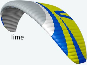 parapente joint3 lime