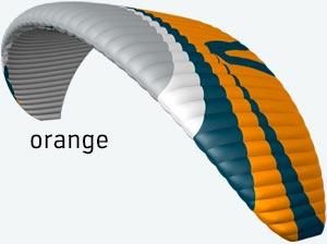 parapente joint3 orange