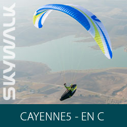 Parapente Skywalk CAYENNE5 - EN C