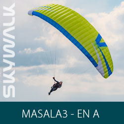 Parapente Skywalk MASALA3 - EN-A