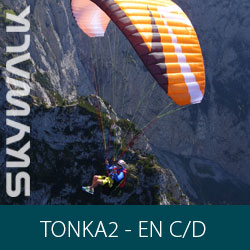 Parapente Skywalk Tonka2 - EN C/D
