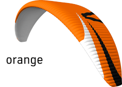 Parapente Poison X-Alps Orange