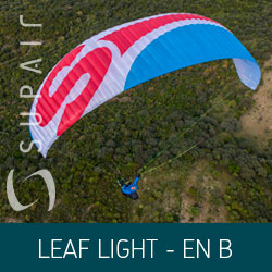 Parapente Supair LEAF LIGHT - EN B